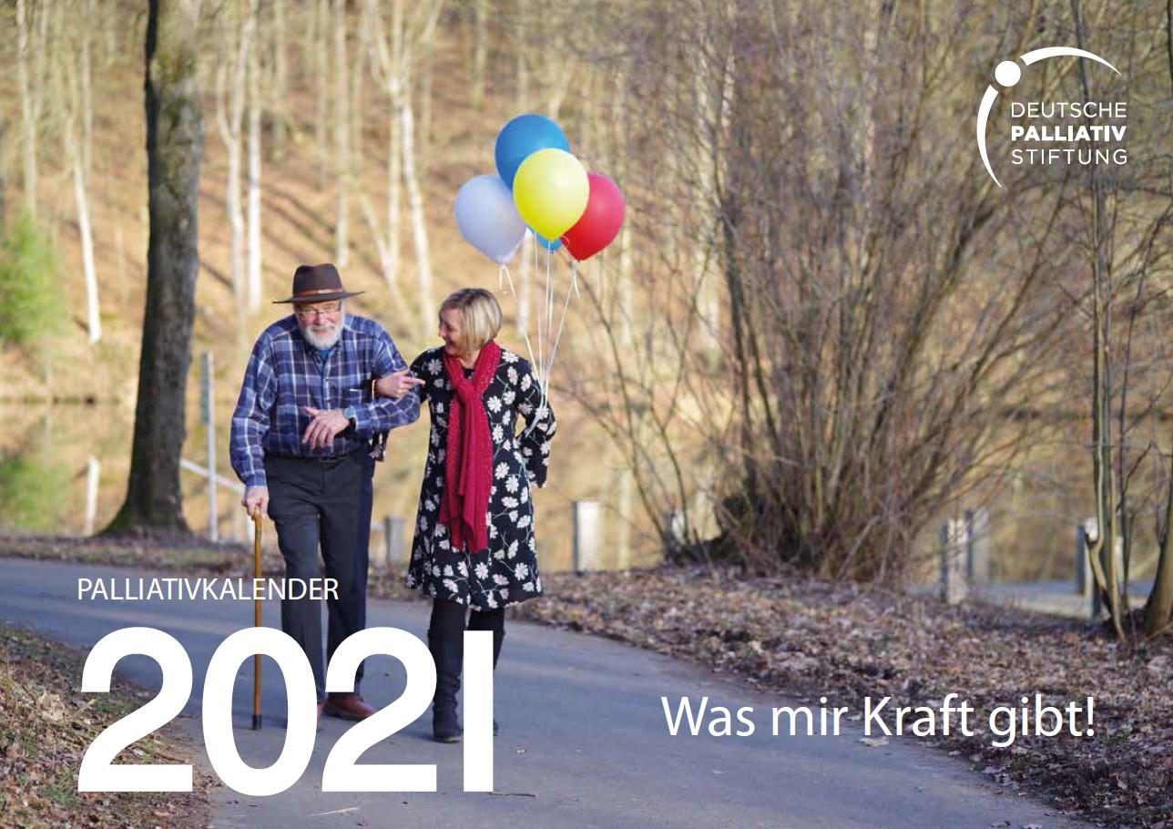 """PalliativKalender 2021 """"Was mir Kraft gibt!"""""""