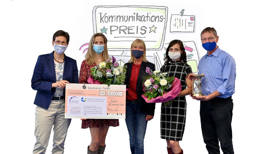 DPS und DGP Kommunikationspreis Siegerfoto 2020